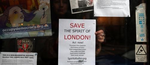 L'iniziativa anti-gentrificazione a Soho