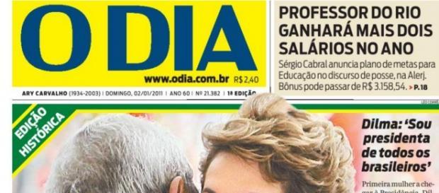Capa de O Dia - Foto/Divulgação