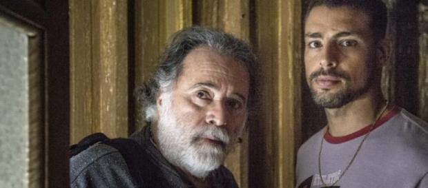 Cena da novela da Globo 'A Regra do Jogo'