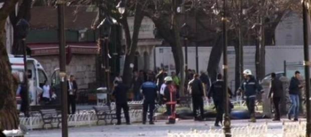 Esplosione in piazza Sultanahmet