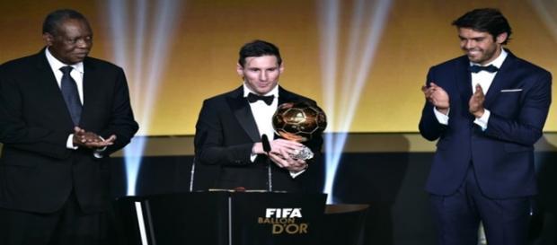 Lionel Messi vence 5ª Bola de Ouro
