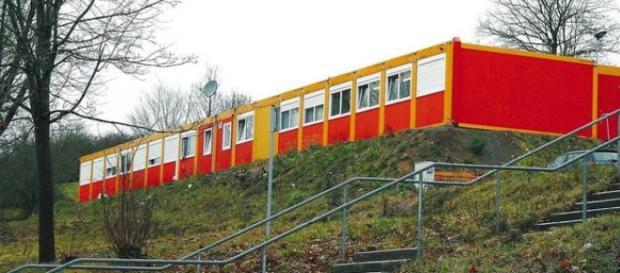 Ośrodek dla azylantów w Adelsheim