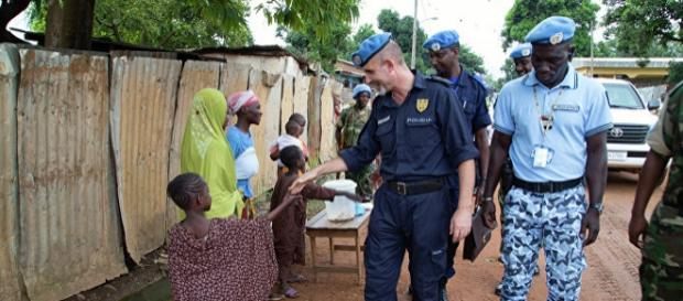 Siły pokojowe ONZ w Republice Środkowoafrykańskiej