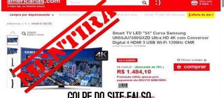 """Smart TV LED """"55"""" Curva Samsung Ultra HD 4K oferta"""