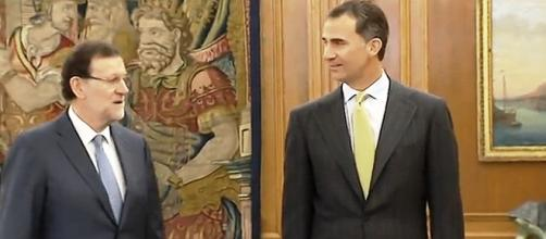 Felipe VI y Mariano Rajoy Casa Real TV