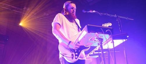 Garratt shows off his multi-instrumental skills
