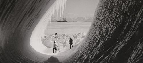 Grotto in an iceberg. Wikimedia CC