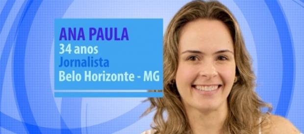 Ana Paula é de Belo Horizonte e tem 34 anos