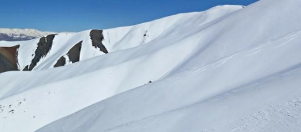 Esquiar en sitio extraño…. en Afganistán