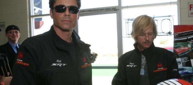 Rob Lowe with David Spade (Wikimedia)