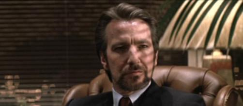 Alan Rickman en su papel de Hans Gruber.