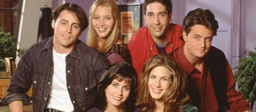 El cast de Friends en una imagen promocional