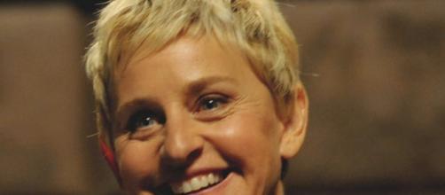 Ellen DeGeneres, conduttrice TV statunitense