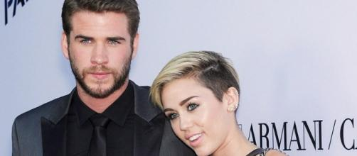 Foto de Liam Hemsworth y Miley Cyrus