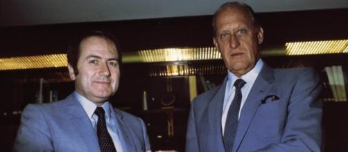 Sepp Blatter e Joao Havelange nel 1982