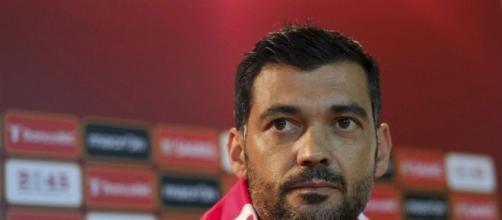 Sérgio Conceição ainda como treinador do SC Braga
