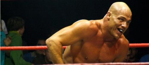 WWE's Kurt Angle [via: flickr.com/ilovehoovering]