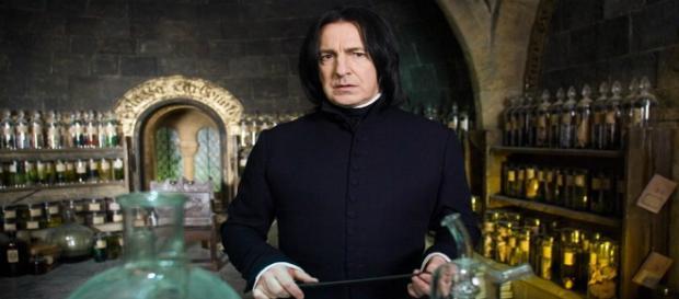 Alan Rickman, il Severus Piton di Harry Potter.