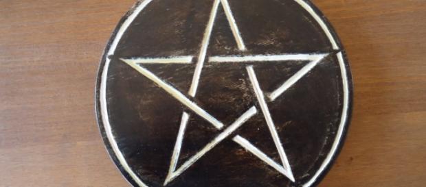 Pentáculo mágico del Oráculo Wicca
