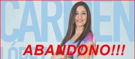 Carmen López abandona GH VIP 4