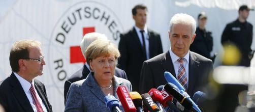 A chanceler alemã suscitou revolta na Alemanha