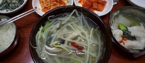 El jolbok, en sopa, plato típico.