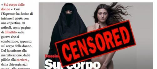 Facebook cancella copertina de 'L'Espresso'