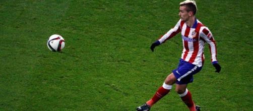 Griezmann, attaccante dell'Atletico Madrid