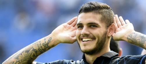 L'attaccante argentino Mauro Icardi