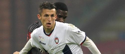 L'attaccante croato Ante Budimir - F.C. Crotone