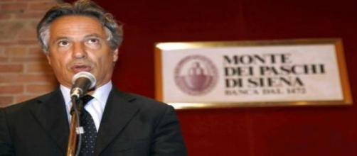 L'ex presidente di Mps, Giuseppe Mussari
