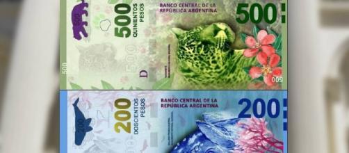 Los nuevos billetes de $200 y $500 pesos