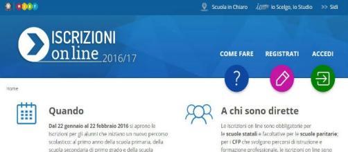 Miur iscrizioni on line: il portale dedicato