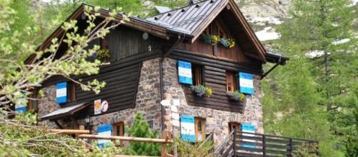 Un rifugio del Trentino Alto Adige
