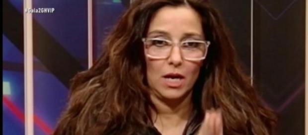 Carmen López, primer abandono en GH VIP
