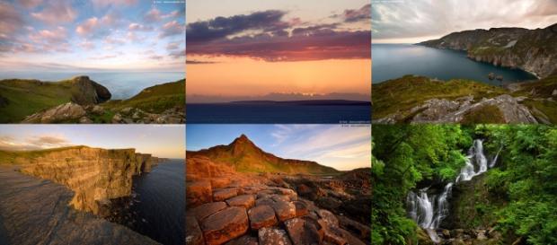 Paesaggi incantevoli dell'Irlanda.