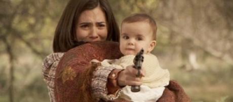 Il Segreto terza serie: Maria spara a Francisca