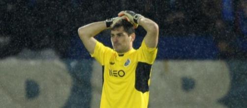 Casillas tras su fallo contra el Guimaraes