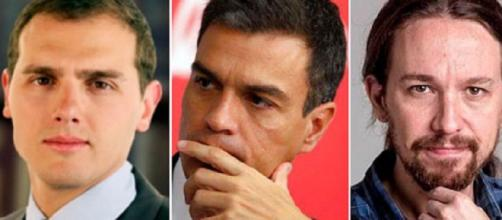 Foto actuales lideres políticos España