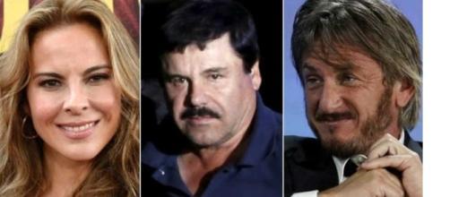 Kate del Castillo, El Chapo e Sean Penn