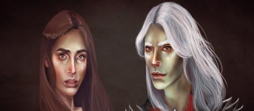 Lyanna Stark y Rhaegar Targaryen. Silvaticus.