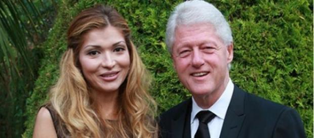 Gulnora Karimova i Bill Clinton (nationalreview)