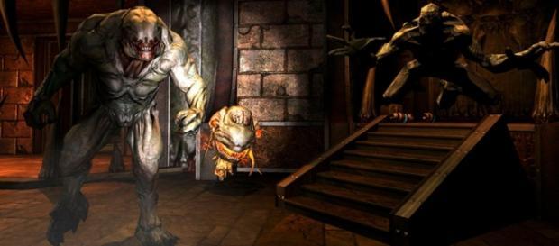Imagenes del videojuego doom4.