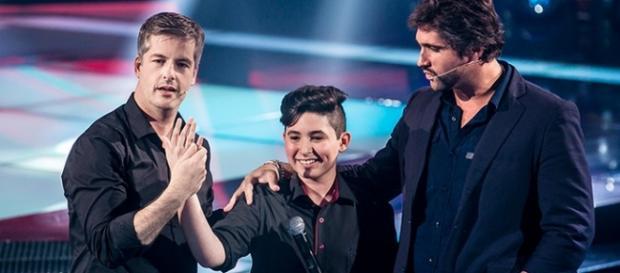 Victor e Leo participam do The Voice Kids