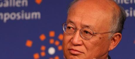 Il direttore dell'Aiea, Yukiya Amano.