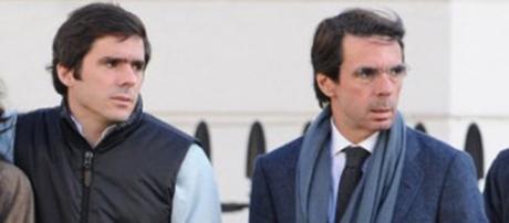 José María Aznar junior y su padre