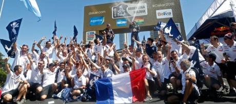 Peugeot y Peterhansel, los vencedores del Dakar