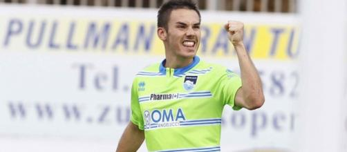 Cristian Pasquato, attaccante della Juventus.