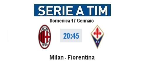 Diretta Milan-Fiorentina, cronaca live, video gol
