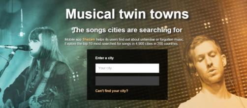 El portal de BBC y Shazam para buscar los top 10